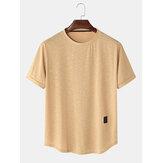 4 Renk Erkek Spor Kısa Kollu Nefes T-Shirt
