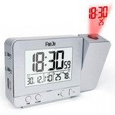 FanJuFJ3531ПроекционнаясигнализацияЧасыЗарядное устройство USB Повтора Двойная сигнализация с подсветкой Часы