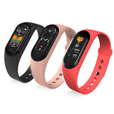 [bluetooth Call]Bakeey M5 BT5.0 Heart Rate Blood Pressure Monitor bluetooth Music Multi-sport Modes Smart Wristband Watch