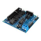 Sensor Shield V5.0 Sensor Expansion Board Geekcreit لـ Arduino - المنتجات التي تعمل مع لوحات Arduino الرسمية