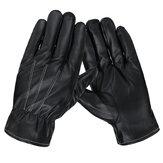 1 Pair Men Women Winter Gloves PU Leather Touchscreen Warm Windproof Waterproof Sport Golves Ski Cycling Bike Motorcycle