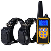 Remote Dog Training Collar 1000 Yards Remote Static Shock Training Collar voor 2 honden