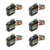 6PCS JX Servo DHV56MG 5.6g DS Digital Coreless MG Metal Gear HV Servo 1.2kg 0.10sec For RC Airplane