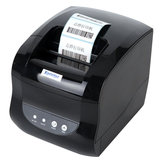 Xprinter XP-365B Thermal Receipt Printer Bill POS Printer Barcodes QR Codes Printer USB Port For Supermarkets Shops Restaurants for XP Windows 7 8 10