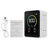 Gas Co2 Sensor Detector Air Quality Monitor Analyzer W/ Temperature Humidity Display