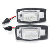 LED License Number Plate Lamp Lights For Miata MX-5 MPV NB Protege Ford Escape