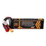 ZOP Power 11.1V 6000mAh 45C 3S Lipo Battery T Deans XT60 Plug for RC Car