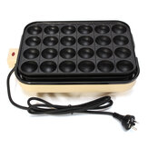 EUPA 24 Löcher Takoyaki Grill Pan Plate Kochen Octopus Ball Kitchen Maker Backform