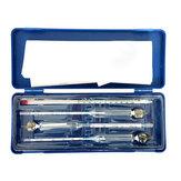 Alcohol Meter 4PCS/Set  Glass Float Gauge Densitometer Alcohol Liquid Meter Hydrometer Wine Tester