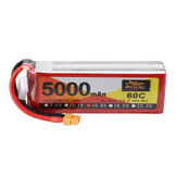 ZOP Power 14.8V 5000mAh 4S 60C Lipo Батарея XT60 штекер