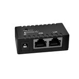 100MイーサネットPOEネットワークスイッチPOEセパレーターネットワークハブスプリッターPOE電源ボックスDC5-48V