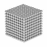 1000 PCS Par Lot 5mm Magnétique Buck Ball Aimant Argent Intelligent Anti-Stress Jouets Cadeau