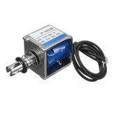 JF-0826B 12V DC 10mm rígido Magnetic 20N Push Pull Electromagnet Frame Solenóide