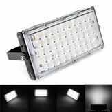 50W Black Shell LED Flood Light Impermeabile White Light Landscape Garden lampada per Outdoor AC185-265V