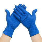 100Pcs S/M/L Disposable Nitrile Gloves Hand Protection Personal Health Cleaning Handling Protective Glove Work Gloves Blue
