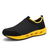 Giày thể thao nam thoáng khí ngoài trời thoáng khí Soft Giày thể thao đi bộ duy nhất