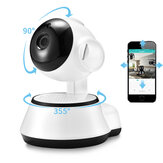 Xiaovv Q6S ذكي 360 ° PTZ Panoramic 720P وايفاي Baby مراقب H.264 ONVIF Two Way صوت Security IP الة تصوير with M-otion Detection رؤية ليلية