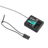 FlySky FS-BS4 2.4GHz 4CH ASHDS 2A RC Receiver PWM/PPM/I.bus/S.bus Output with Gyroscope Function for RC Car Boat