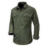 Men's 100% Nylon Loose Breathable Quick Drying Outdoor Shirt