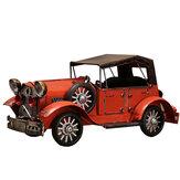Retro Nostálgico Classic Carro Modelo Brinquedo Brinquedos Leves Veículo Casa Escritório Mesa Decorações Natal para Crianças Presente para Crianças