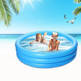 66x15.7inch 481L Inflatable Swimming Pool Summer Holiday Children Paddling Pools Beach Family Game Water Fun Play