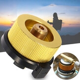 35mm Stove Converter Gas Bottle Adapter Camping Picnic Gas Cartridge Adapter Burner Tank Connector