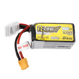 Gens ACE 22.2V 1050mAh 95C 6S Lipo Battery XT60 Plug for Cinewhoop Shendrones FPV RC Racing Drone