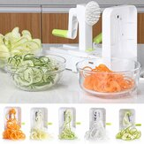 Multifuncional Vegetal Fruit Chopper Hand Rotation Salad Shredder Dinner Machine para Cozinha Ferramenta