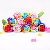 Skymore 16 шт Ароматические Мыло Цветочный набор, искусственный лепесток тела 5159615 роз для ручной стирки или ванны, идеальный подарочный набор