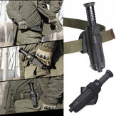 5.9x3inch Flashlight Baton Holder Expandable Nylon Rotation Telescopic Holster Survial EDC Tool Bag