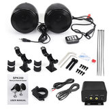 300W Waterproof 5.0 Motorcycle Audio Stereo Speaker Amplifier System With bluetooth Function
