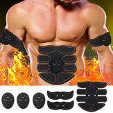 Estimulador Abdominal de Músculos Electrónico EMS Formación de Cuerpo ABS