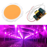 20W LED COB Round Grow Light Chip DIY with AC90-240V Driver Power Supply for Indoor Plant Flower