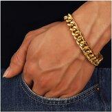 Bracelet chaîne en acier inoxydable tendance