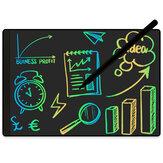 NUSITE 9,5 ιντσών οθόνη πλήρους οθόνης LCD με μαγνητική γραφίδα γραμματοσειράς χρώματος One Key Clean Doodle Drawing Board Business Stationery Supplies