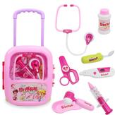 Kinderen doen alsof ze doktersset spelen Educatieve kit Jongensmeisjes speelgoed
