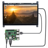 Raspberry Pi 4B LCD Kapazitiver Touchscreen 7-Zoll-HDMI-HD-Display USB-Laufwerk frei 1024 × 600PX IPS