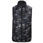 Elektrisch Verwarmd Vest Jas USB Warm Up Verwarmingsdoek Winter Body Warmer Camouflage