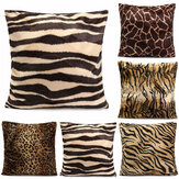 Leopard Animal Print Pattern Pudebetræk Sofa Talje Kast Pudebetræk Home Decoration