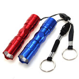 Elfeland 3W Portable EDC LED Flashlight Mini Keychain Light