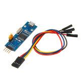 PL2303 USB Para UART Conversor TTL Mini Placa LED Módulo Serial de Saída TXD RXD PWR 3.3 V / 5V