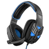 JIYIN HG11 Gaming Headset 40mm Unit 3.5mm+USB Stereo surround sound Adjustable Mic for PS4 for Xbox one for PC