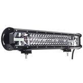 20 polegadas 540W 90 LED Barra de luz de trabalho Combo Beam DC 10-30V à prova d'água IP68 6000K para caminhão off-road SUV