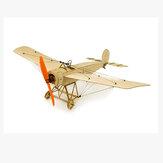 Dancing Wings Hobby Fokker E 420mm Wingspan Balsa Wood Trainer KIT de avião RC para iniciantes com Power Combo