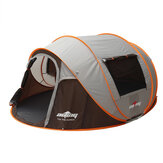 5-6 человек Кемпинг шатер двойной двери автоматический навес семьи шатер На открытом воздухе путешествия