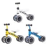 Детский балансировочный велосипед, 4 колеса, детский велосипед, без педалей, детский велосипед с скольжением для бега, тренировочный велот