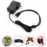 電気手袋/靴/靴下のための1.2A 220V 7.4V 2In1リチウム電池充電器プラグ