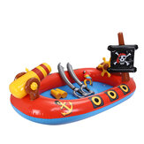 Pirate Boat Inflatable Swimming Pool Children Fountain