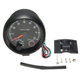95 mm 3.75inch toerenteller Tacho Gauge Meter 0-8000 RPM met LED Shift Light 12V