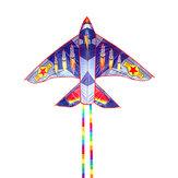 Aquiloni a forma di aeroplano Aquilone aereo per bambini Aquilone a linea singola 30M Volo per bambini Giocattoli all'aperto per bambini Parco sulla spiaggia Giocare